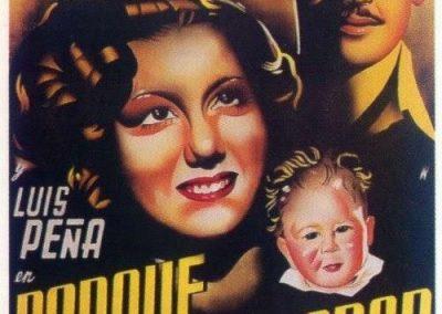 PORQUE TE VÍ LLORAR 1941