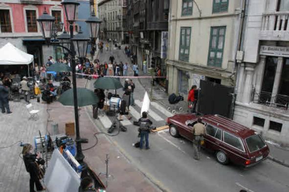 Escenario de cine  «PLAZA PARRES SOBRINO»