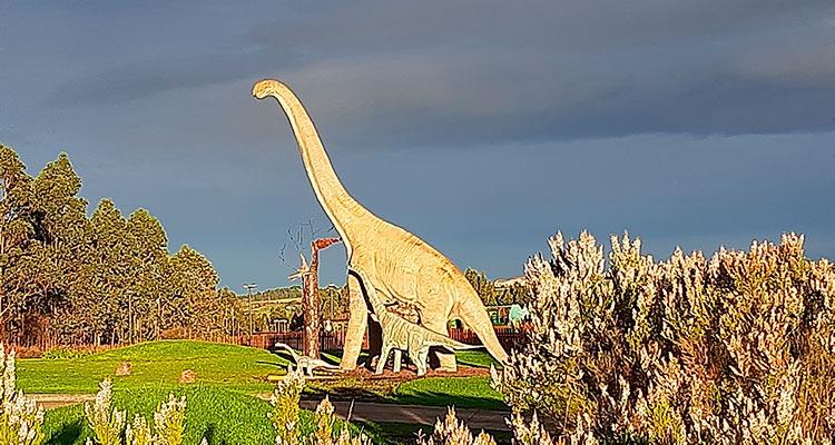 La costa de los dinosaurios