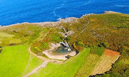 La playa más pequeña del mundo está… en Asturias