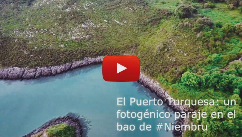El Puerto Turquesa: un fotogénico paraje en el bao de Niembru